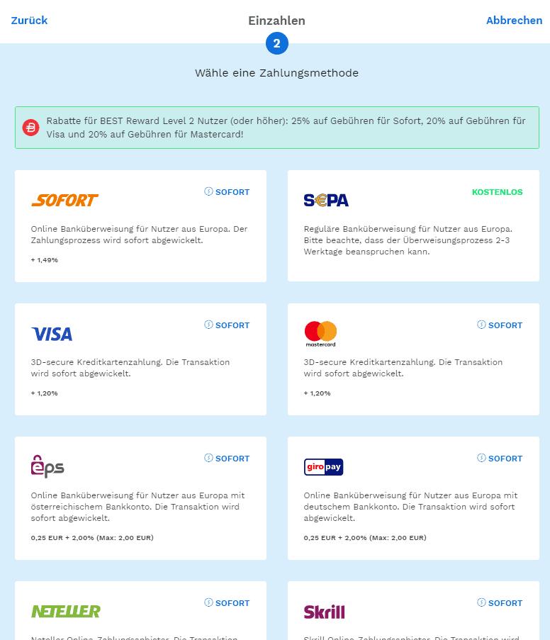 Robo investiert mit bitcoin